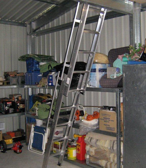 Easi Slide Aluminium Mezzanine Ladders Queensland